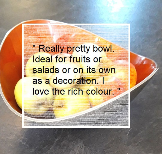 Oh So Pretty review oval bowl